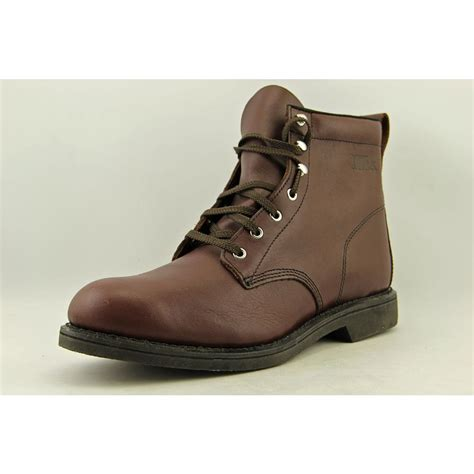 size 13 mens work boots work america 6 farm work boot mens size 13 brown wide work