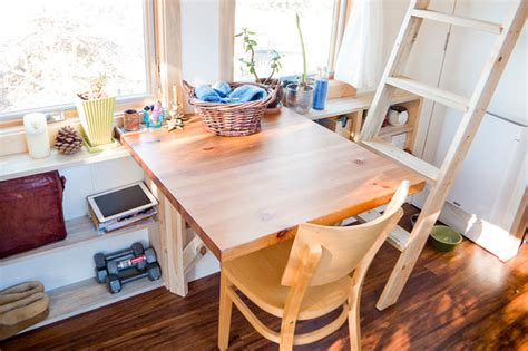 tiny home dining table tiny house dining table contemporary dining room san francisco by the tiny project