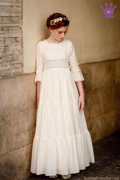 vestidos de primera comuni 243 n nuevas tendencias primavera verano 2017 ella hoy sorteo de un vestido de comuni 211 n a medida de pilar toro blogs de moda infantil moda