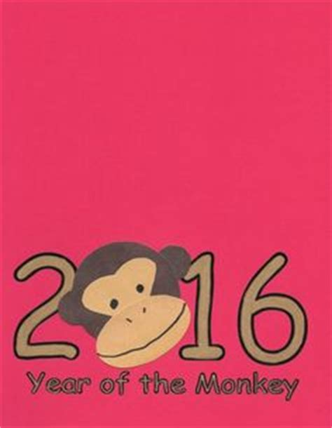 new year of the monkey craft activities printable zodiac bookmarks new year