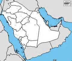 Arabian Peninsula Blank Map by Gallery For Gt Arabian Peninsula Blank Map