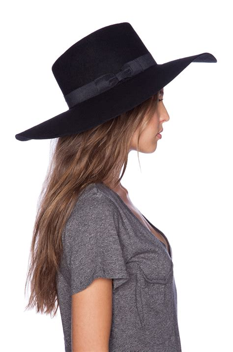 lack of color hats lack of color montana midnight muse hat in black lyst