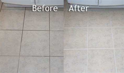 Grout Cleaning Before And After Professional Grout Stain Colorseal Paint Grout Evansville In Henderson Ky Newburgh In