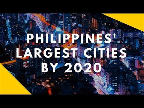 philippines largest cities   youtube