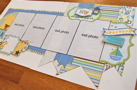 double layout scrapbook pages scrapbook generation new kits available online