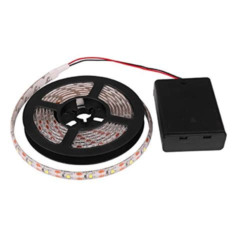battery operated led light strips led lights powstro battery operated waterproof led