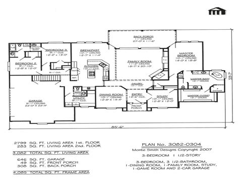 2 bedroom house plans with basement 3 bedroom 2 story home floor plans basement bedrooms three story house plans treesranch