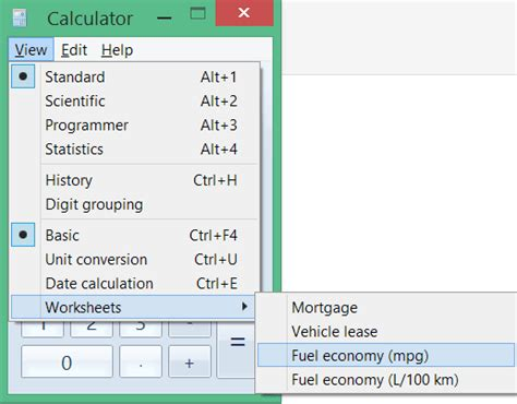 how to calculate per gallon windows calculator features you probably don t windows