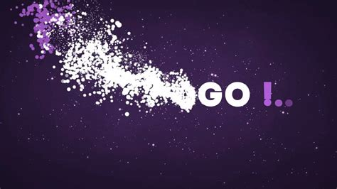 After Effects Free Particles Motion Template Text Animation Youtube After Effects Text Animation Templates