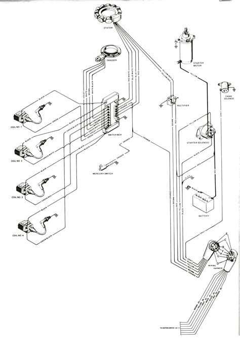 mercury 50 hp lower unit diagram wiring diagrams wiring
