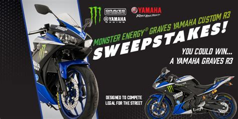 Yamaha Motorcycle Sweepstakes - win a 2016 yamaha r3 motorcycle whole mom
