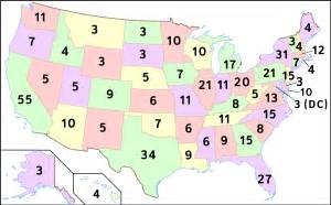 us map of delegates by state how the u s presidential elections work