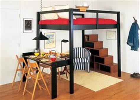 adult queen loft bed smart black king size loft bed for couples home room