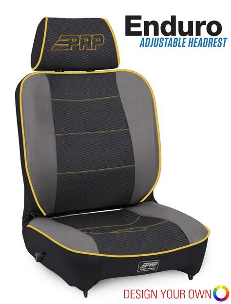 reclining suspension seats enduro reclining adjustable headrest suspension seat prp