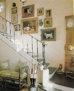 stairway design with country quot comtoise quot quot wag