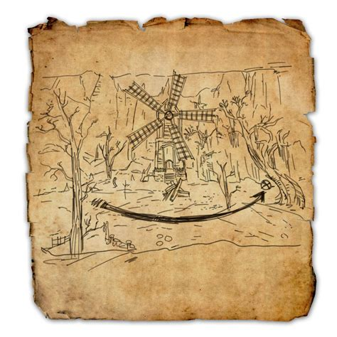 coldharbour ce treasure map coldharbour treasure map iv elder scrolls wiki