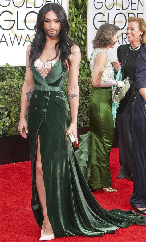 Do You Miss The Golden Globes Carpet by Golden Globes Fug Carpet Conchita Wurst Go Fug Yourself