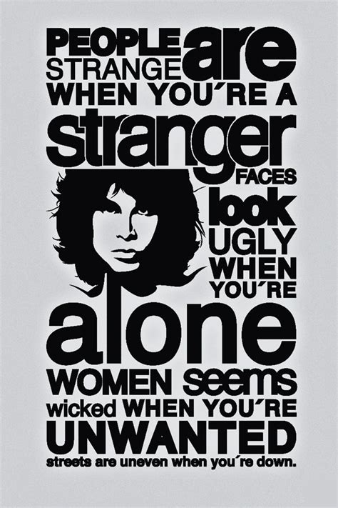 Doors Are Strange Lyrics by 30 Mind Blowing Jim Morrison Quotes