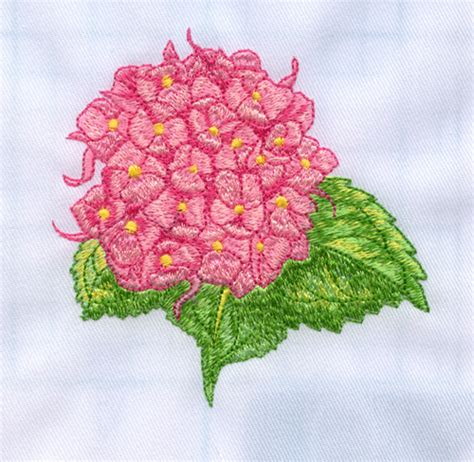 hydrangea embroidery design annthegran