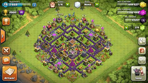 best defense town hall level 8 2016 best farming base for town hall 8 images