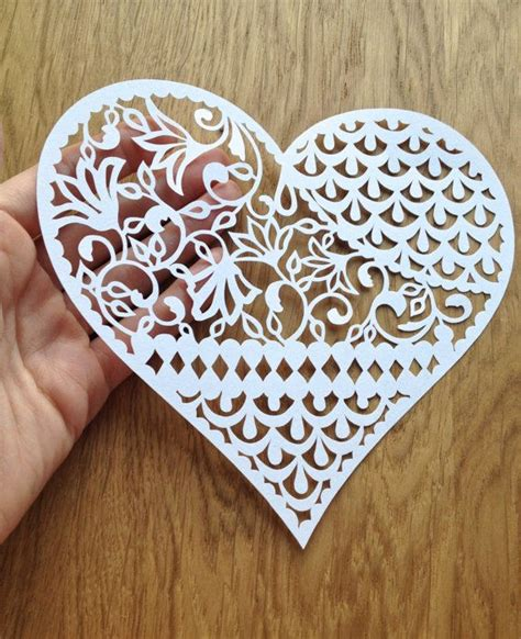 How To Make Paper Cut - paper cut out using paper to create sculpture like