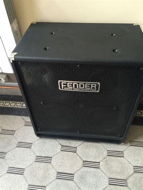 Fender Rumble 410 Cabinet by Fender Rumble 410 Cabinet Image 1484394 Audiofanzine