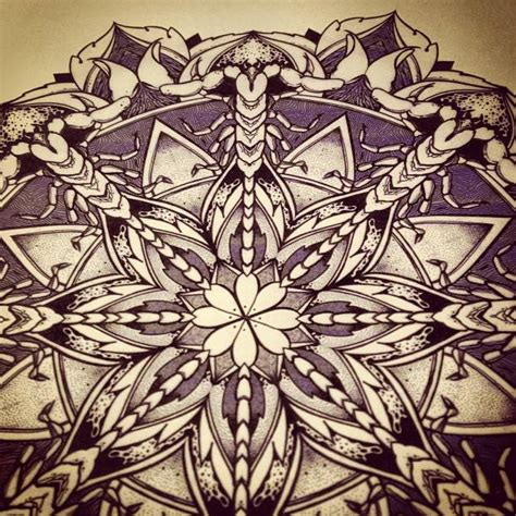 solstice mandala project day023 by orgestc on deviantart
