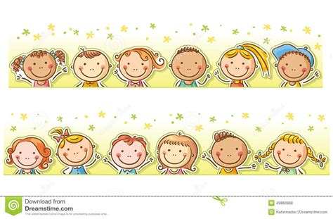 children clipart child clipart border pencil and in color child clipart