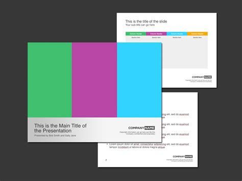 keynote presentation templates trashedgraphics