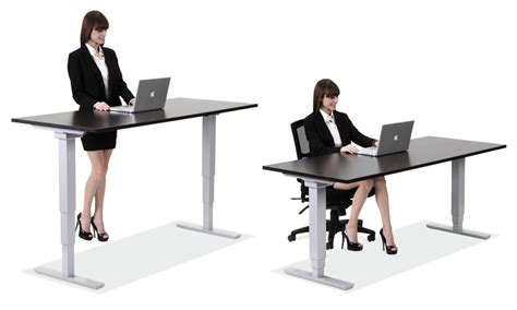 Standup Desks Larner S Office Furniture Charlotte Nc Sitting Standing Desk