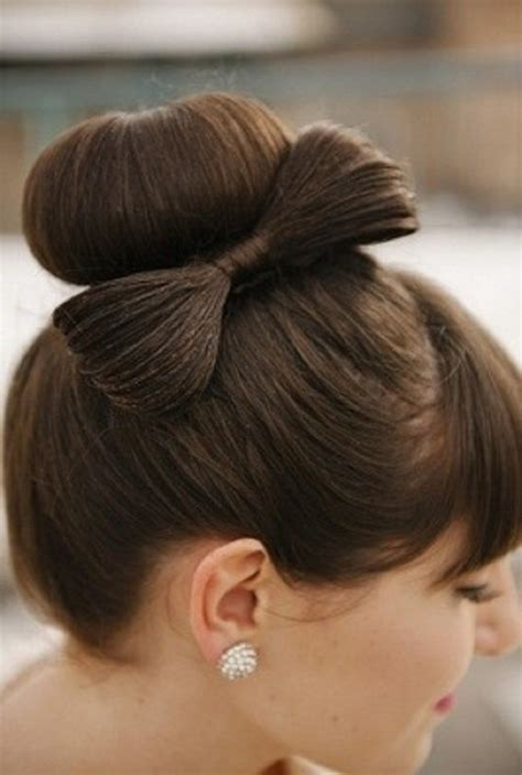 hairstyles cute bow over 50 bun hairstyle ideas for summer easyday