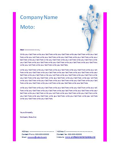 business letter templates free download the best letter