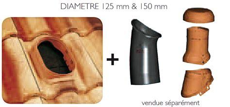 Tuile Redland Plein Ciel by Durovent Kit Ventilation D125 Et D150