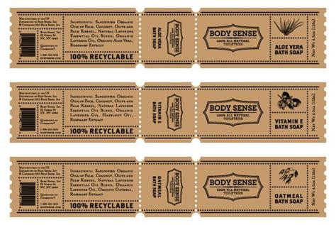 Body Sense Packaging On Behance Packaging Pinterest Behance Soaps And Soap Labels Soap Band Template