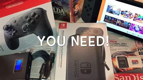 best nintendo best nintendo switch accessories top 5 must list