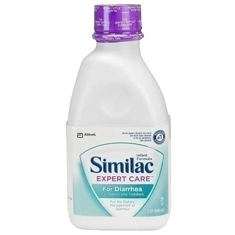 what to feed a with diarrhea similac expert care for diarrhea ready to feed infant formula 32 fl oz by abbott
