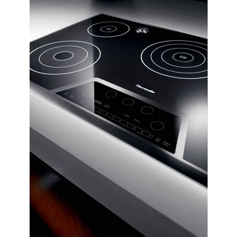 Thermadore Cooktops thermador ces365fs 36 quot masterpiece electric cooktop black
