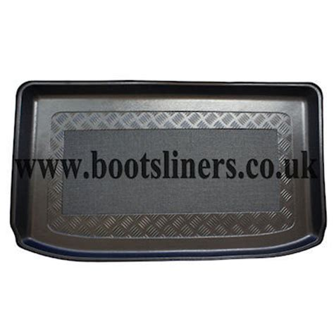 upper boat car dealers ford fiesta 2013 onwards boot liner boot liners