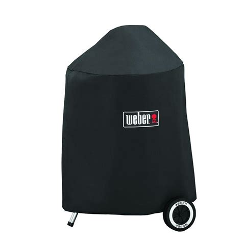 Weber Grill Cover by Weber 18 In Charcoal Grill Cover 7148 The Home Depot