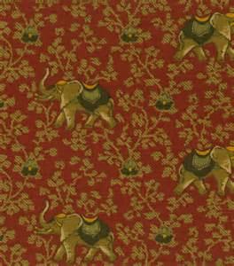 P Kaufmann Upholstery Fabric Home Decor Print Fabric Pkaufmann Elephant Walk Cream Jo Ann