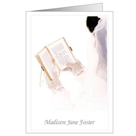 Holy Communion Thank You Cards Template by Celebration Communion Invitation