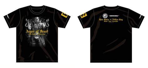 t shirt tekken 00 njpw bullet club x tekken t shirt available outside of
