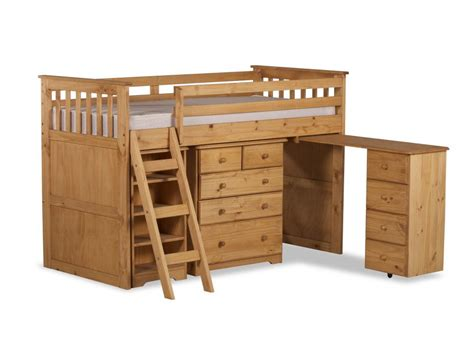 Wooden Mid Sleeper Beds by Happy Beds Ultimate Mid Sleeper Wooden Storage Bed