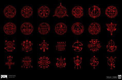 emerson tung doom demonic runes amp writings