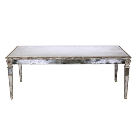 marilyn mirrored coffee table antiqued mirror