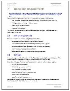 documentation template for project do technical writing projects need a documentation plan