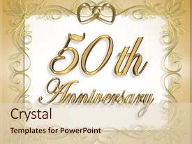 Powerpoint Template Design For 50th Wedding Anniversary Cgbbebb 50th Anniversary Powerpoint Template