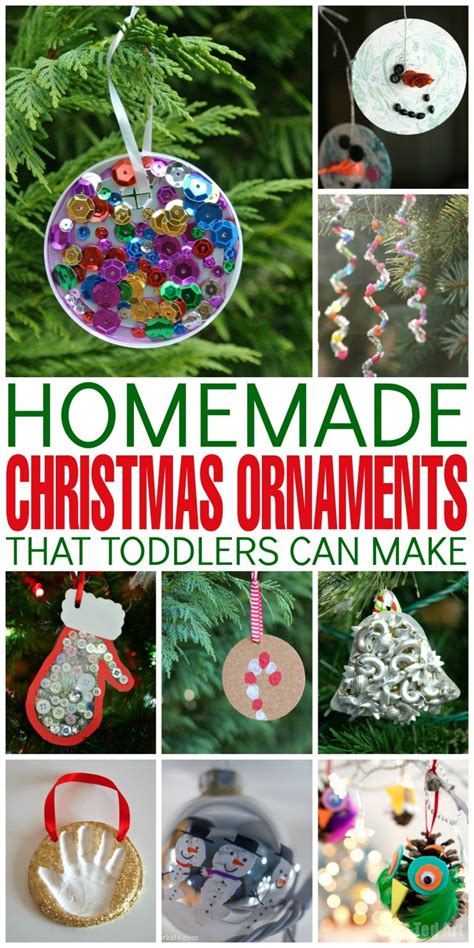 tree decorations children can make ornaments that toddlers can make frugal eh