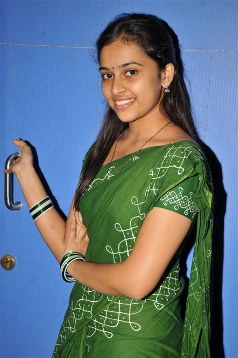 Telugu girl romantic phone talking smiley
