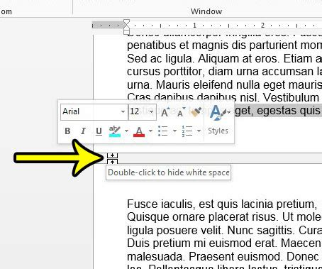print layout view office 2013 how to hide the white space between pages in print layout